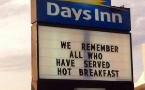 Days Inn sign